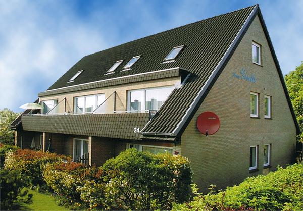 Haus Gisela preiswerte Ferienwohnungen in Büsum