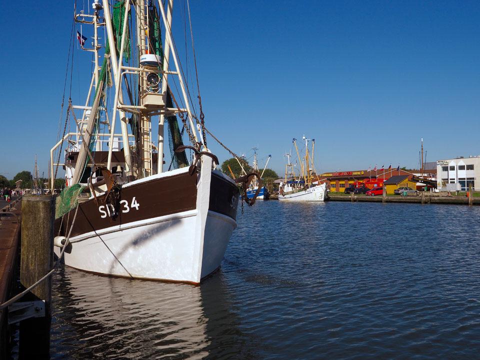 Fischkutter in Büsum Hafen