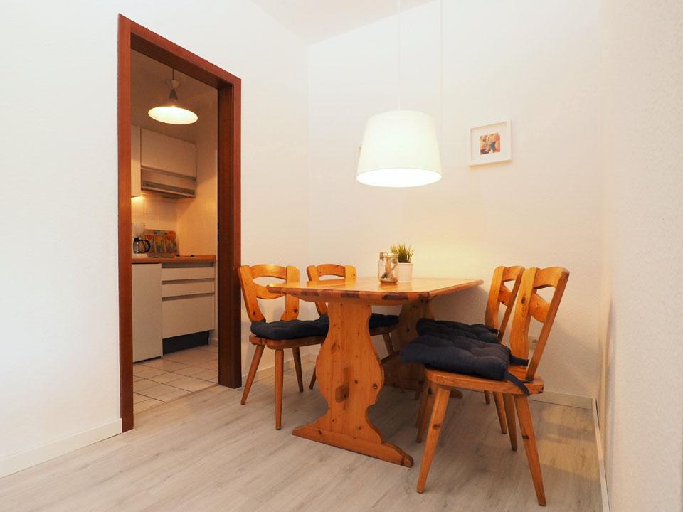 Erdgeschoss Essraum Küche
